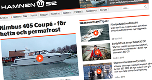 Ny design på Hamnen.se