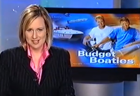 Sydney Hobart motorboat tv