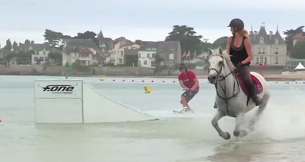 Horse surf
