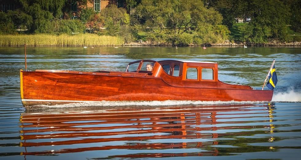 Droskan wooden boat