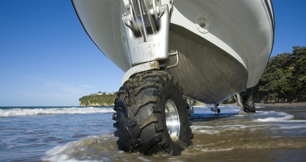 Sealegs - båten med hjul