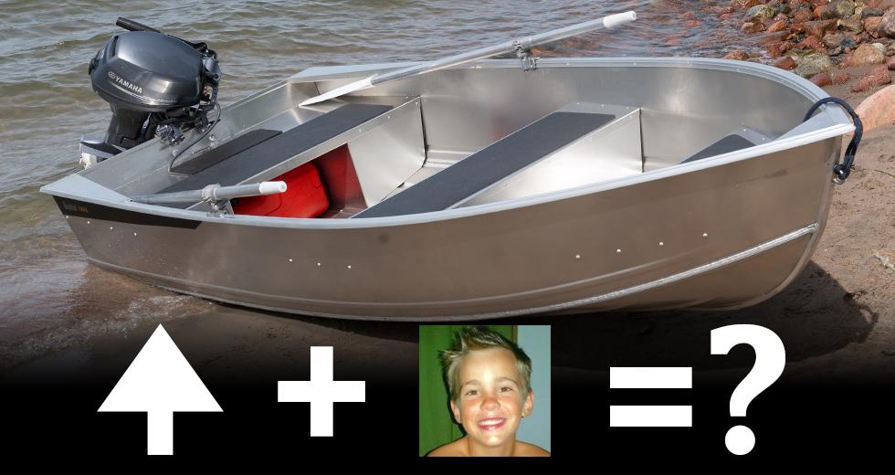 Fabian vill grilla och bada på Tärnskär.
