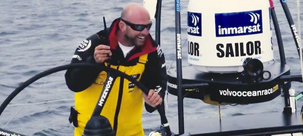 Kite jump Ian Walker