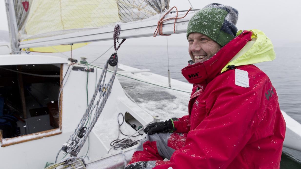 Vintersegling Henrik Trygg