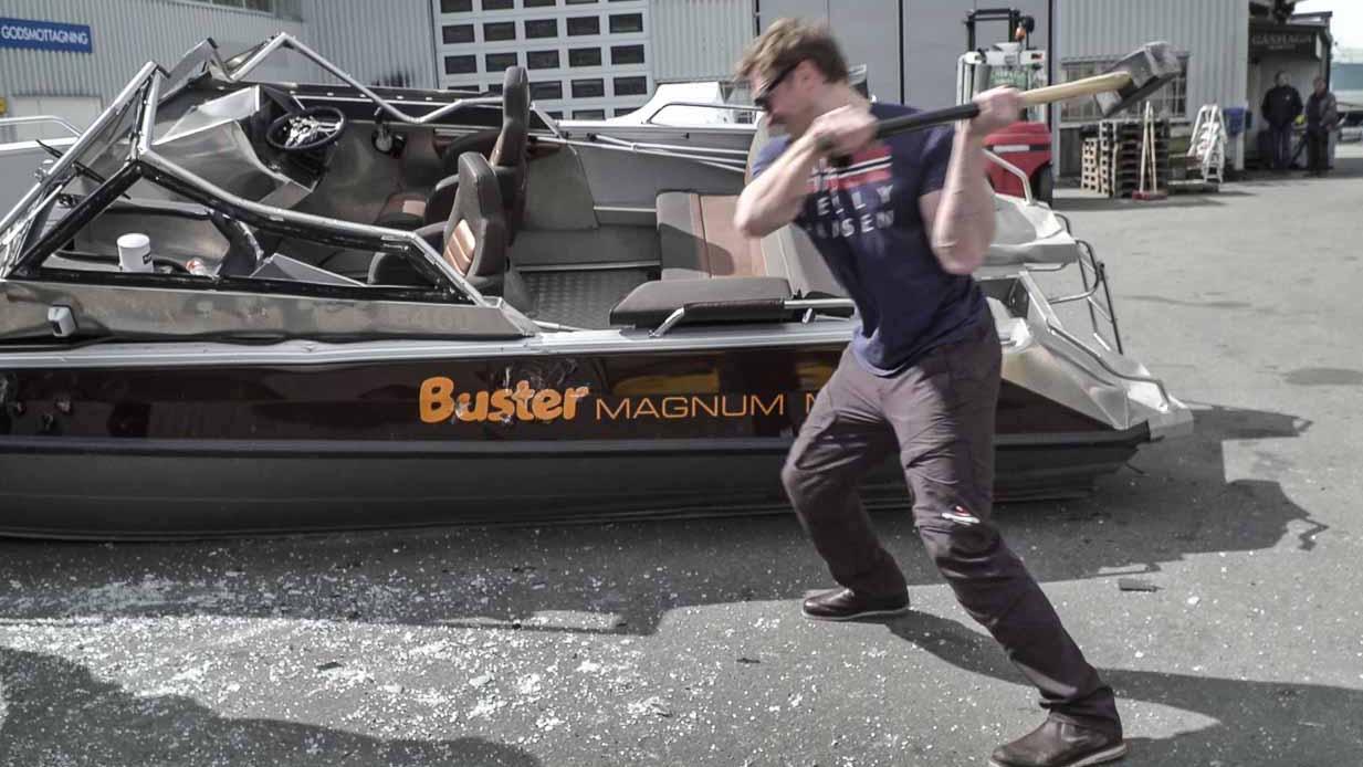 Killing a Buster del 3