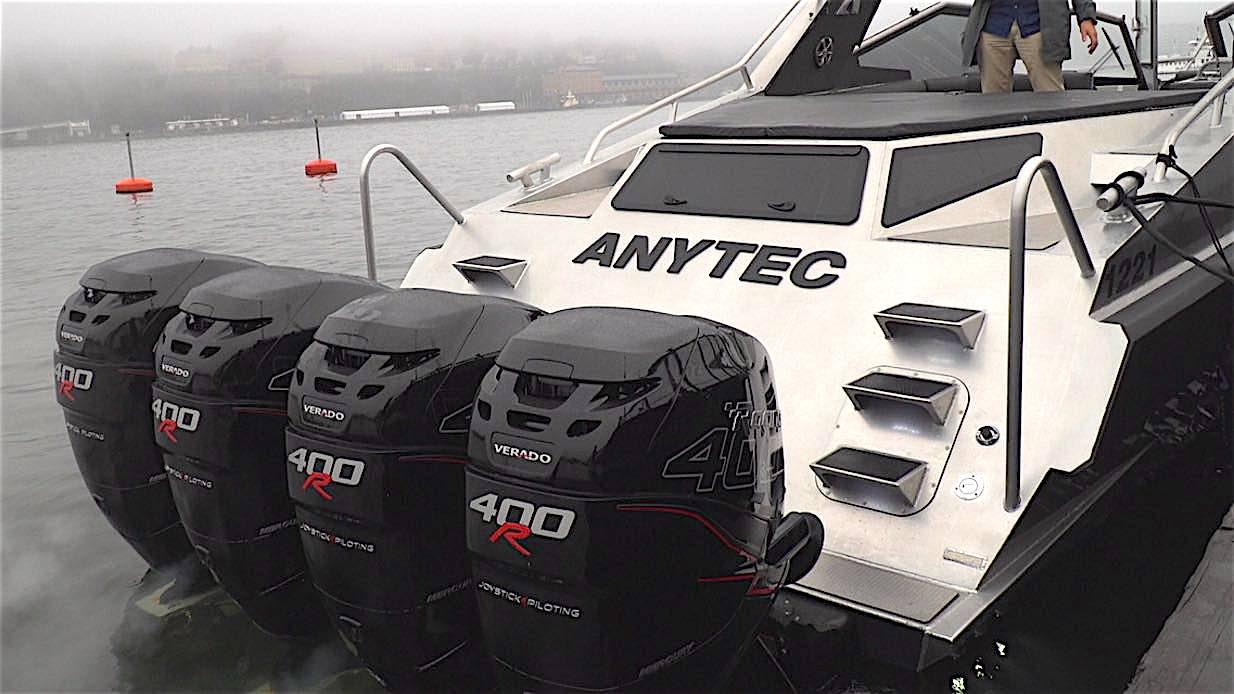 Anytec 1021 – ny herrejössesmodell med 1 600 hk!