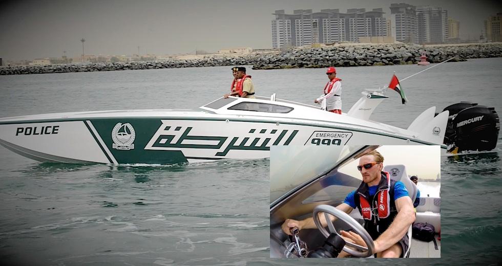 Dubai polisboat test artikel puff