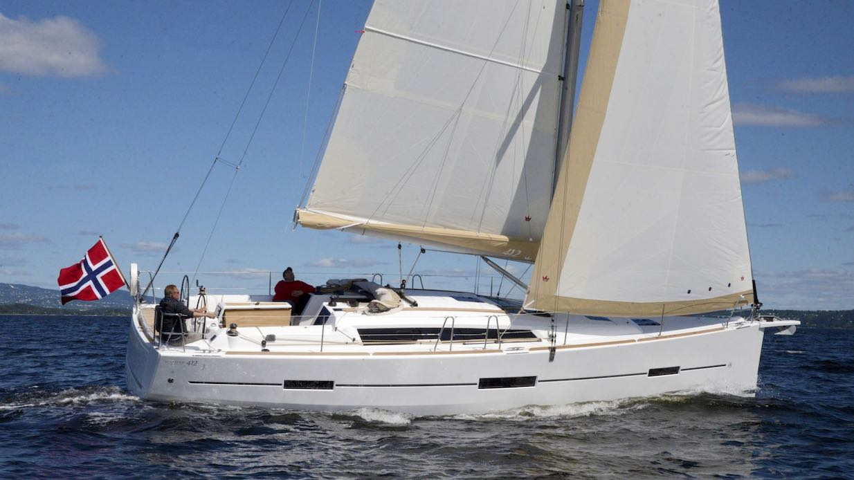 Dufour 412 – nya grepp för ökad komfort.