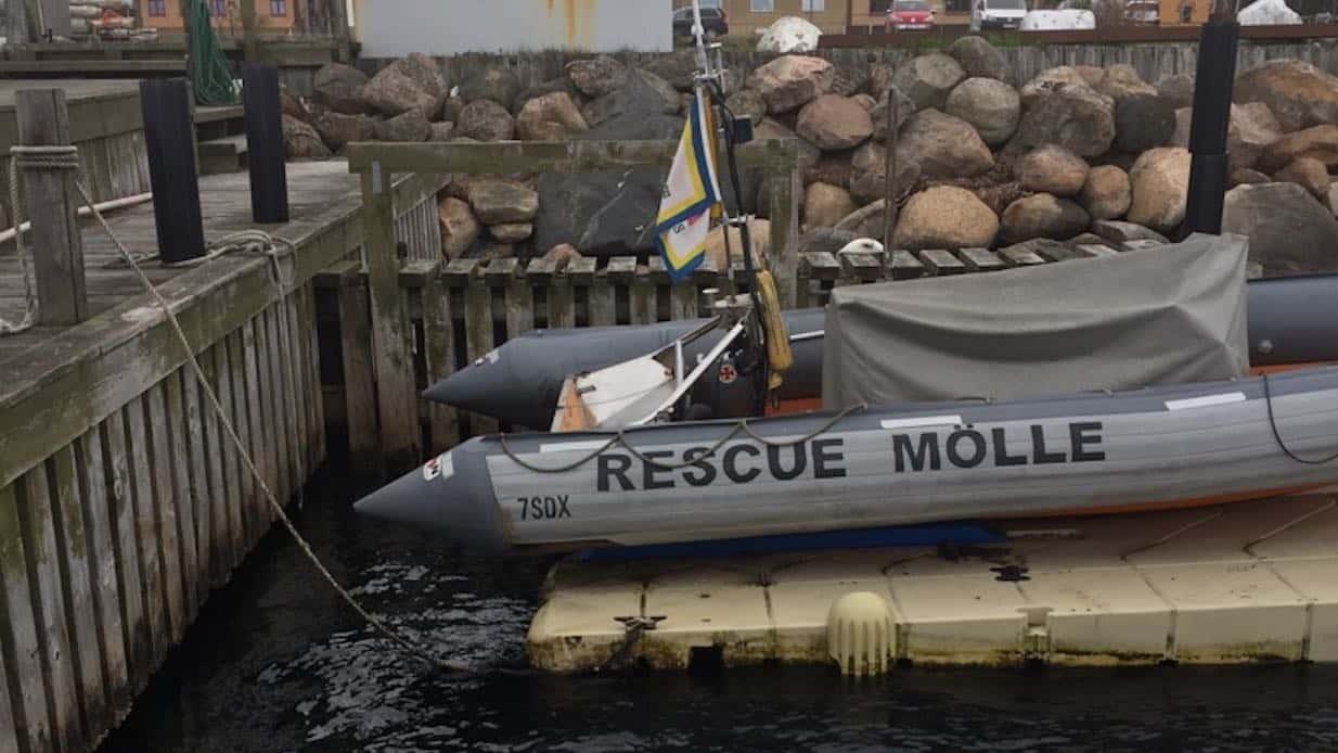 Båtmotor stulen från sjöräddningen i Höganäs.