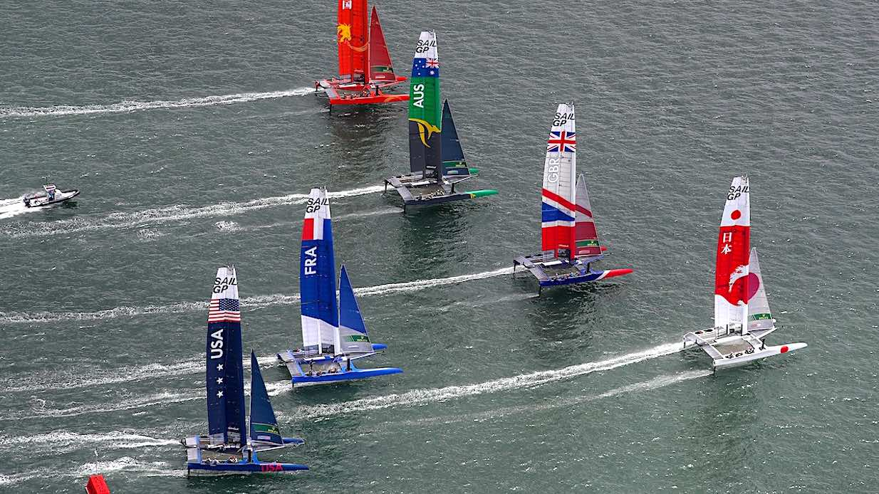 SailGP first rount Sydney