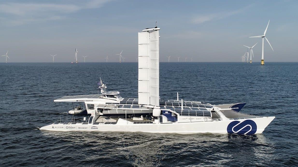 Energy Observer ocean