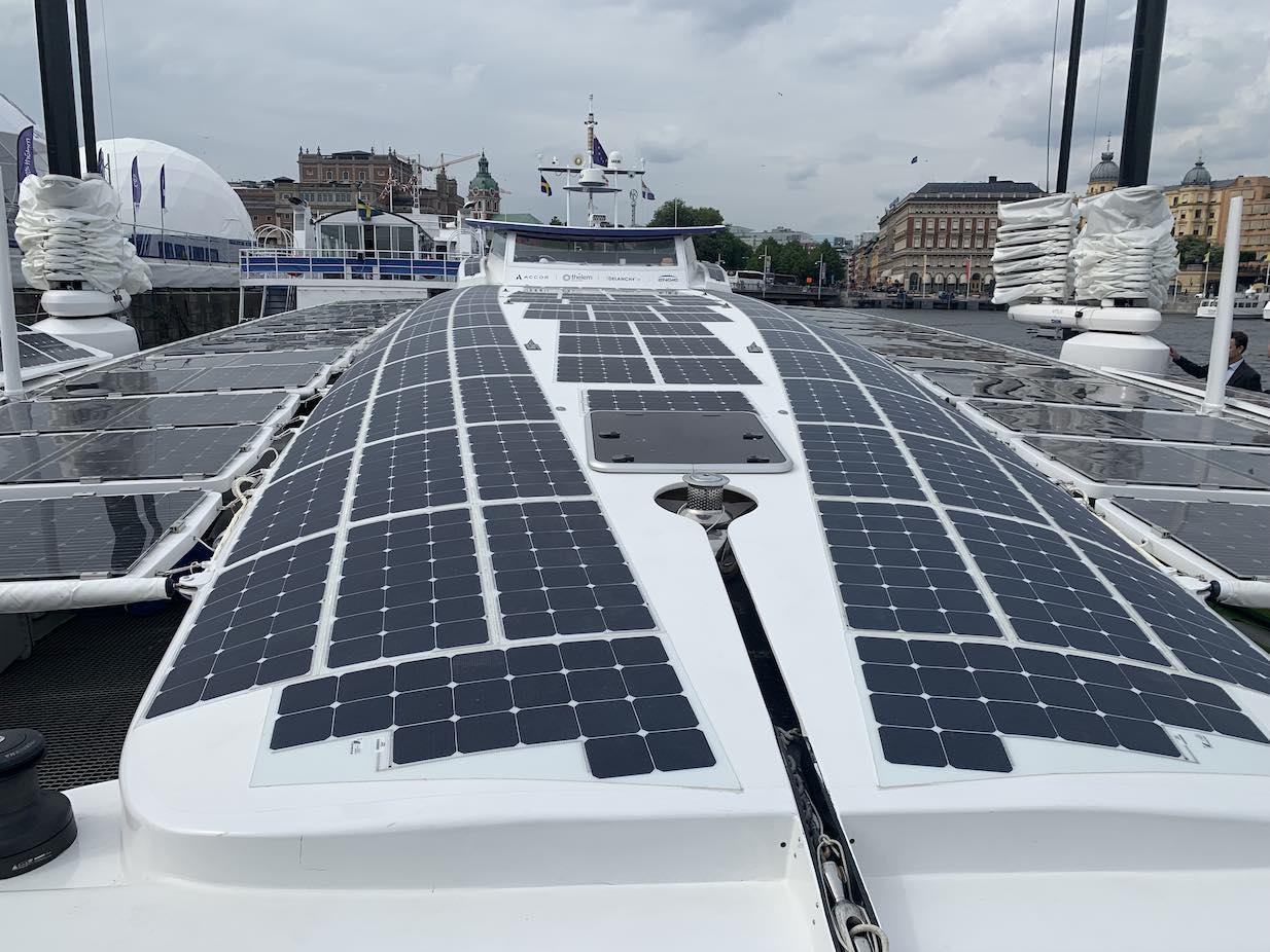 Energy Observer solceller