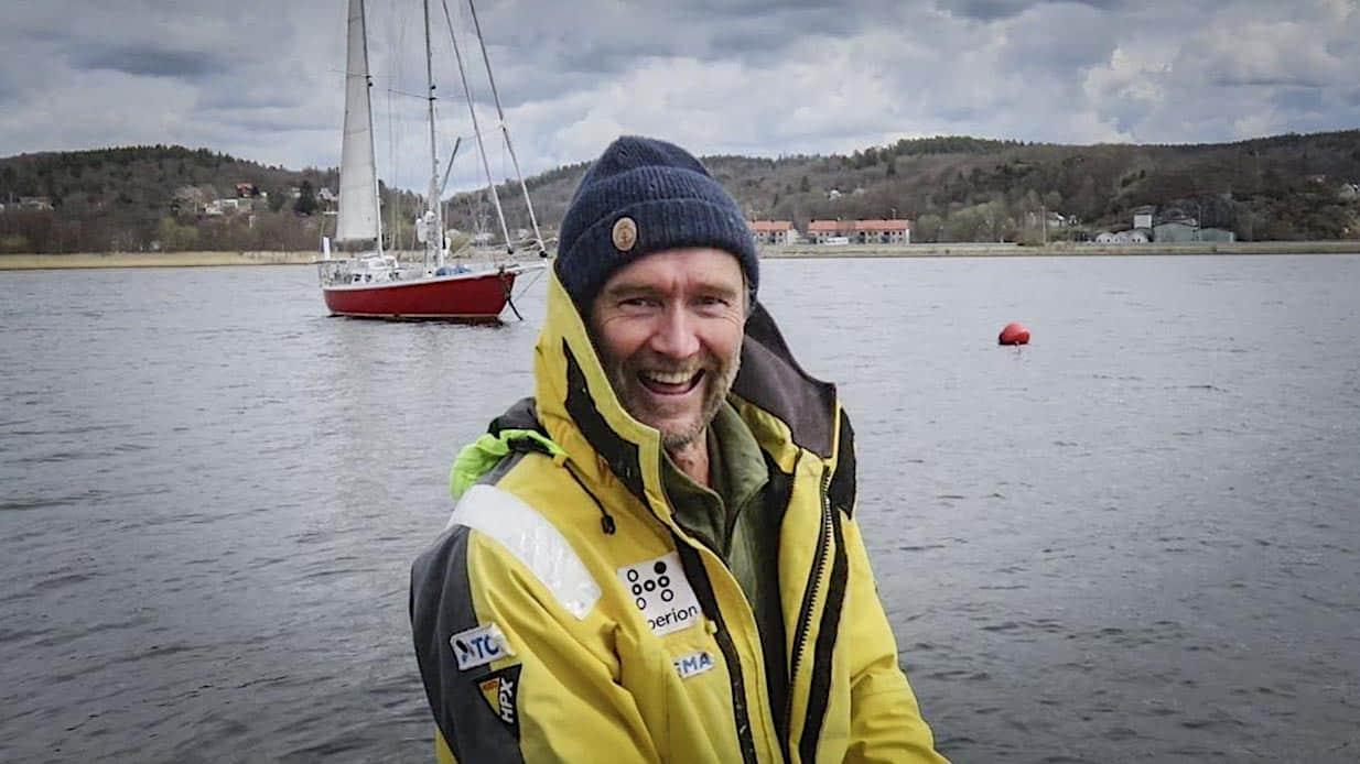 Anders Eriksson seglar ensam non–stop runt jorden!