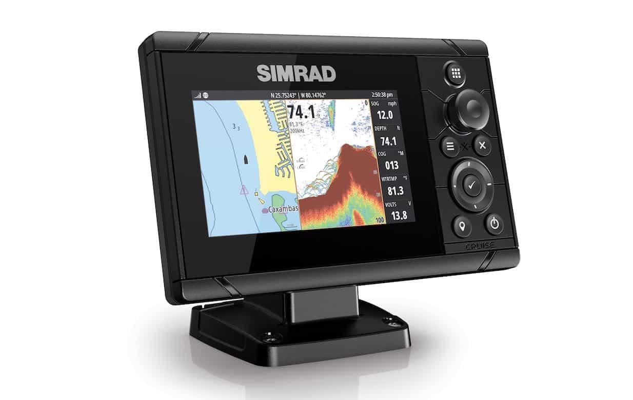 Simrad Cruise 5 Right Facing SPLIT 34874