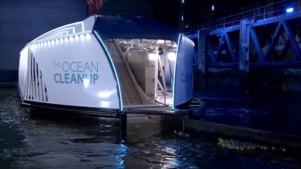 The Ocean Cleanup Interceptor