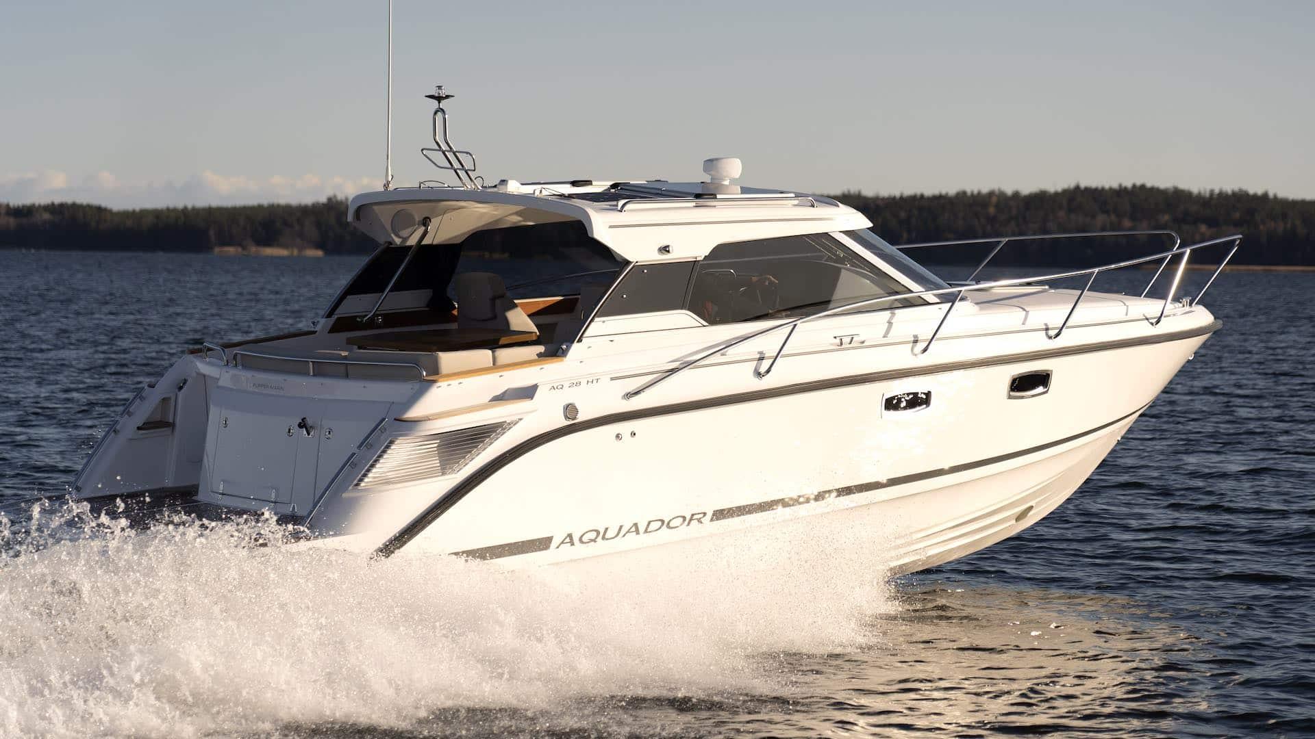 Aquador 28 HT test