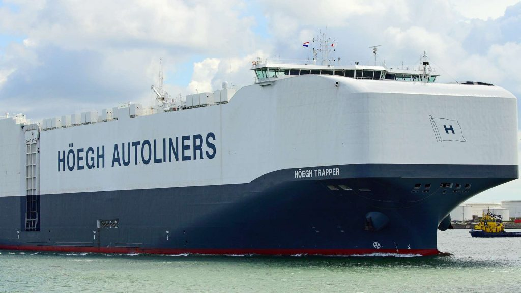 Hoegh Trapper worlds biggest cargo ship for cars