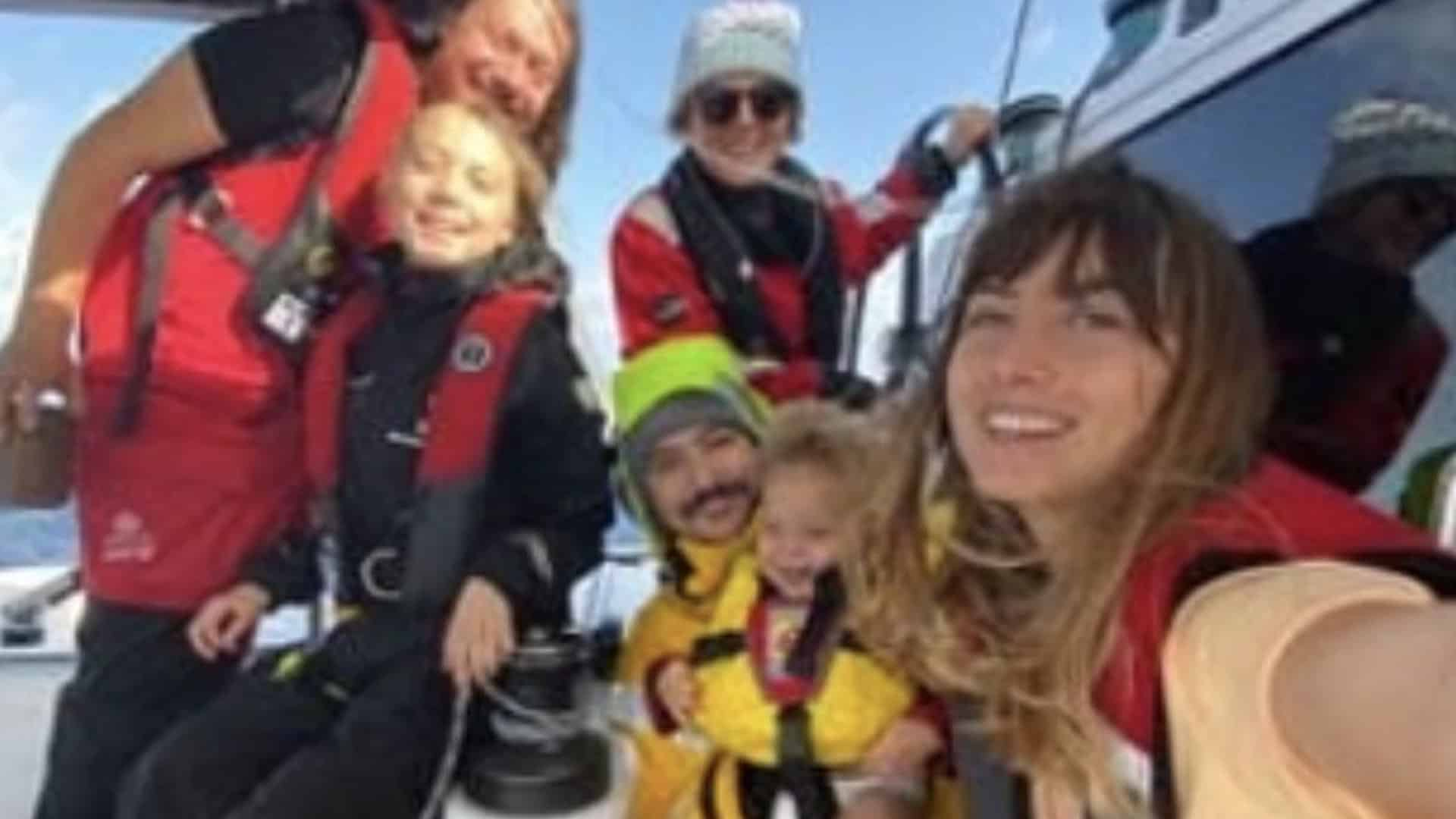 Greta Thunberg crossing the Atlantic 6