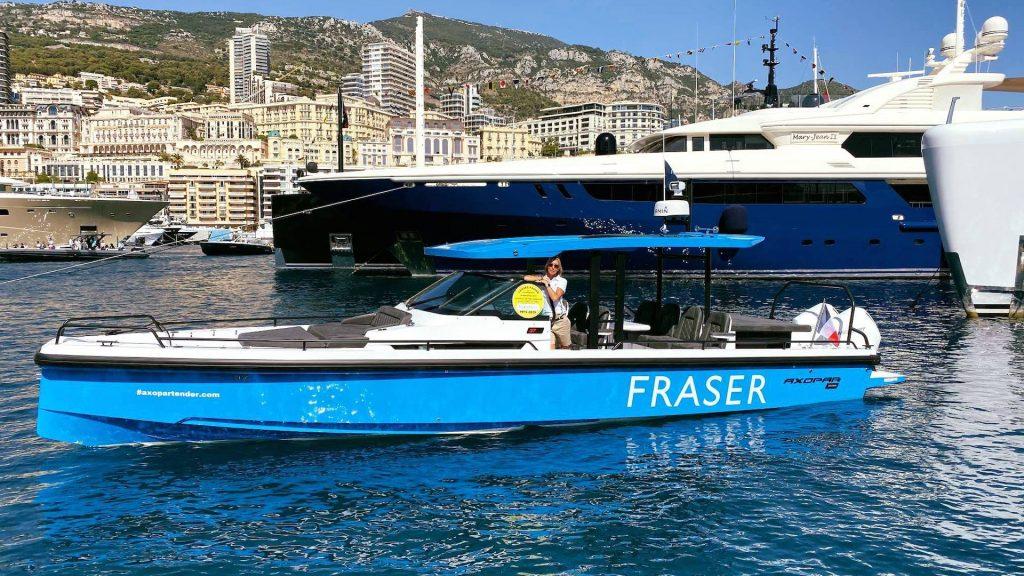 Anna Sandgren lyxjakter Monaco 2