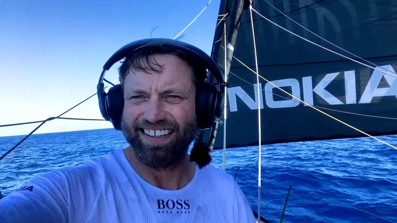 Hugo Boss Alex Thomson under way again