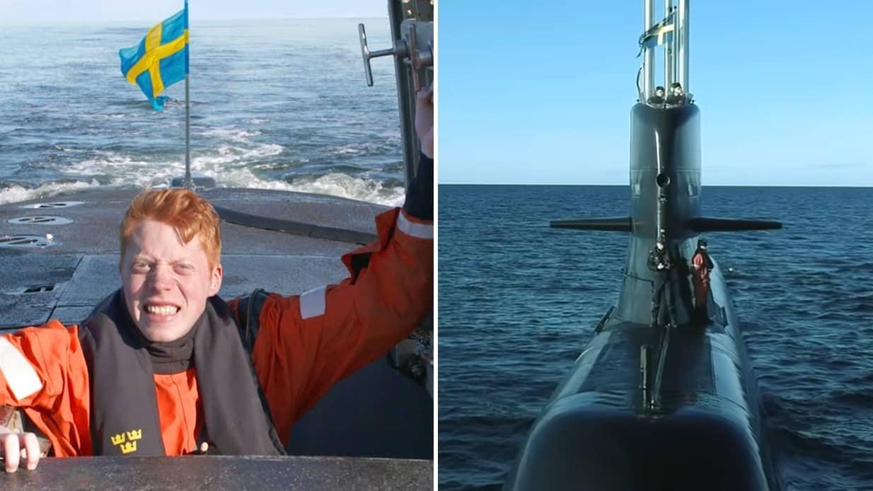 Uppdrag Mat i ubåt Mauri