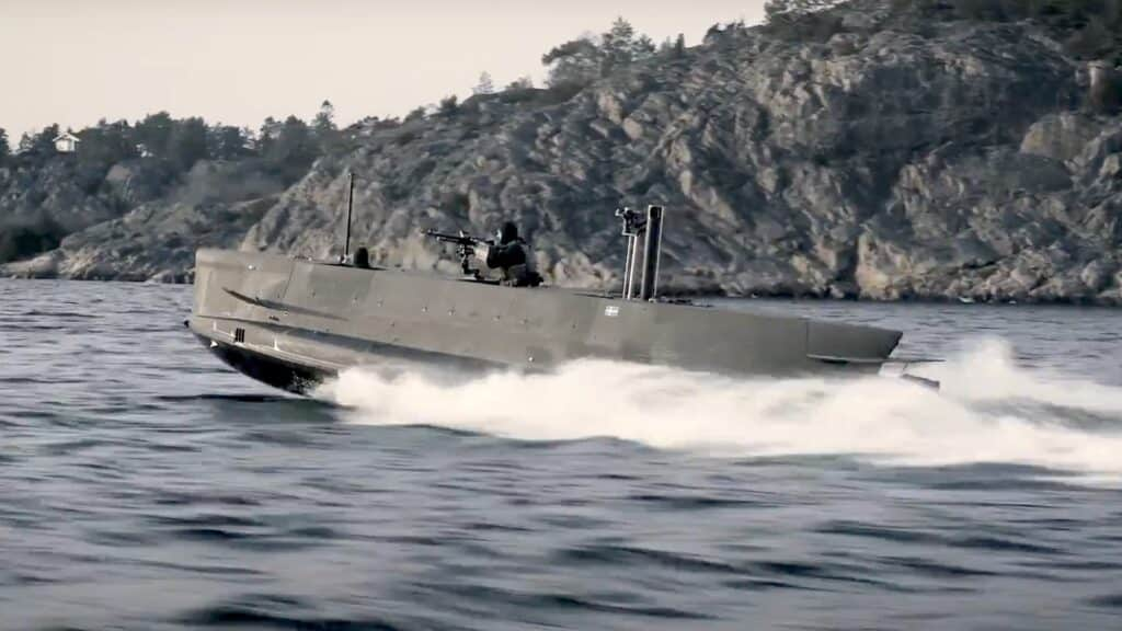 JFD Seal Carrier submarine