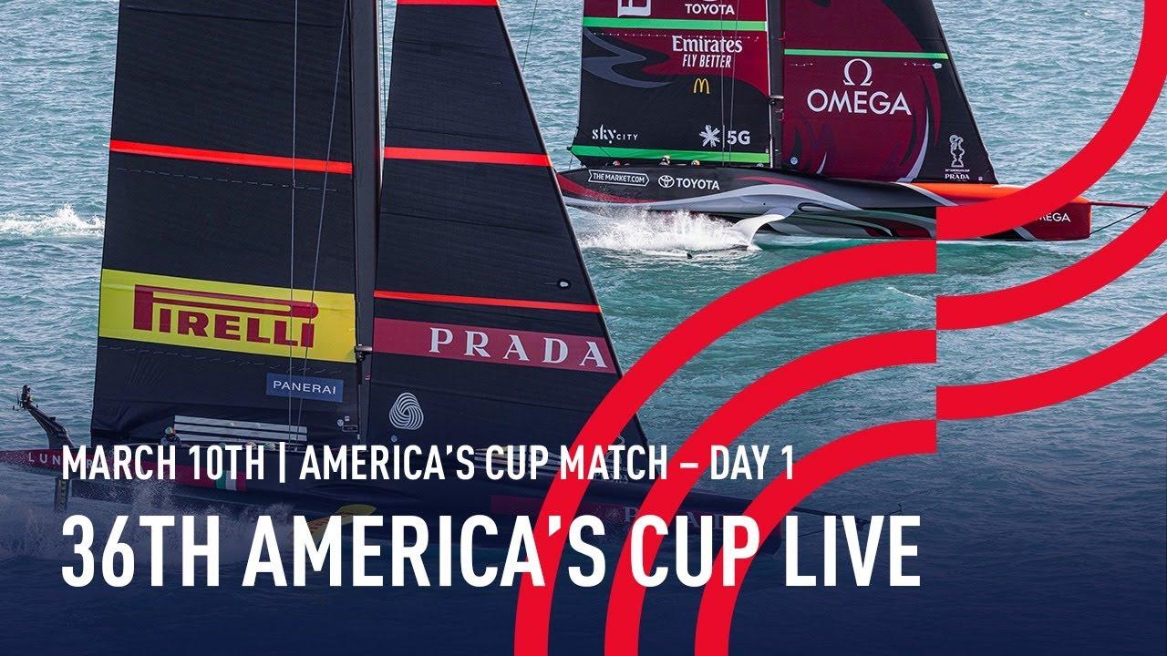 Americas Cup match 1