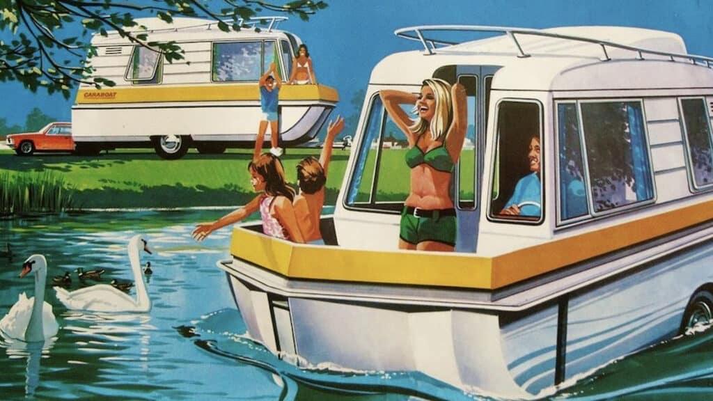 Husboattecknad