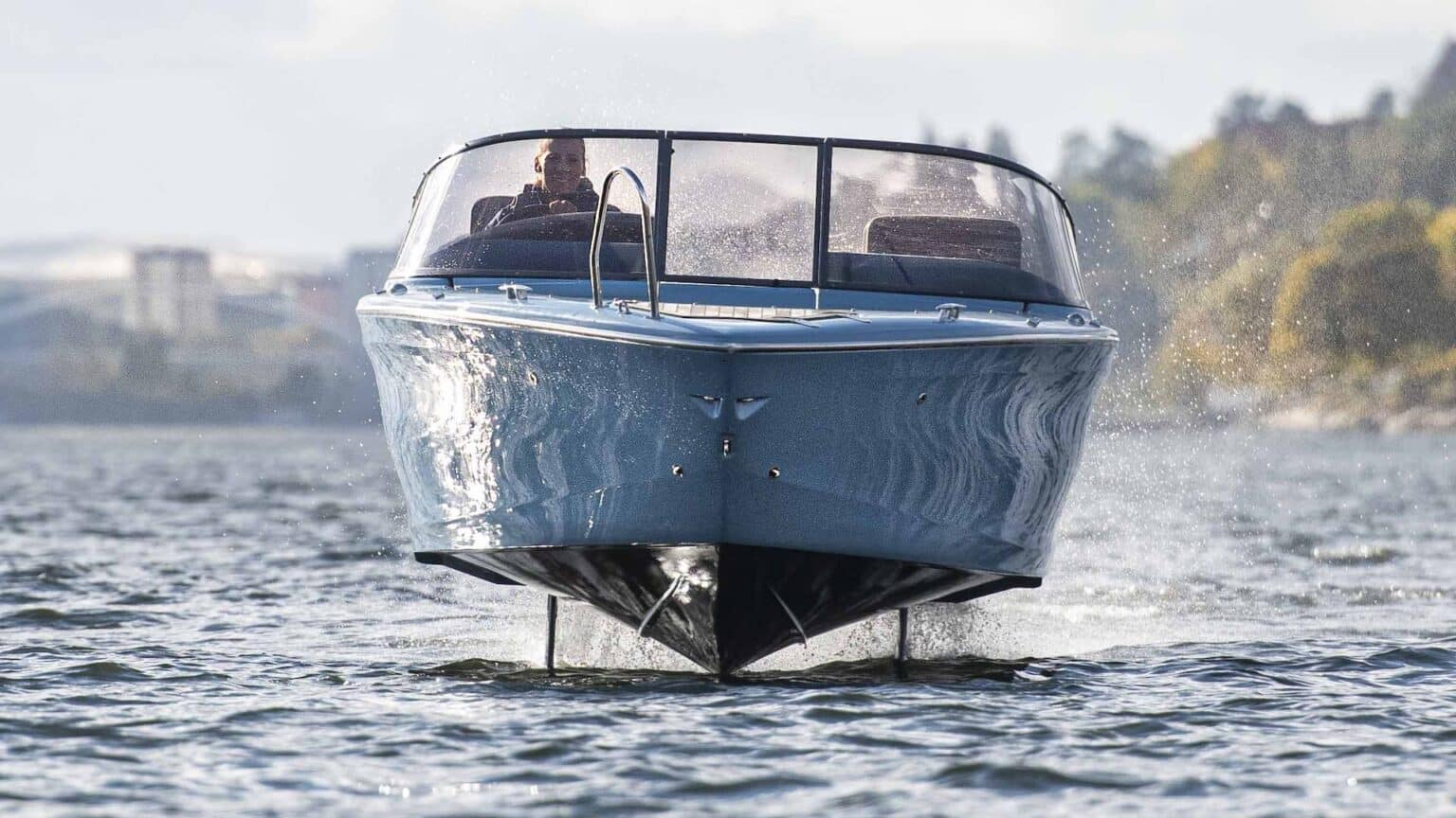 Candela electric boat