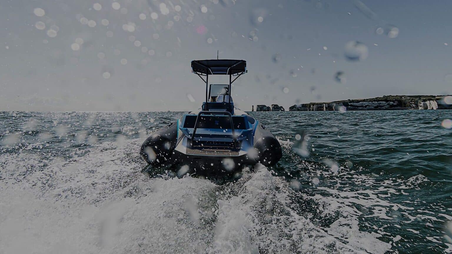 Electric-Leisure-Boat-Pulse-63-RIB-RS-Electric-Boats-Rear-View-e1619785501522