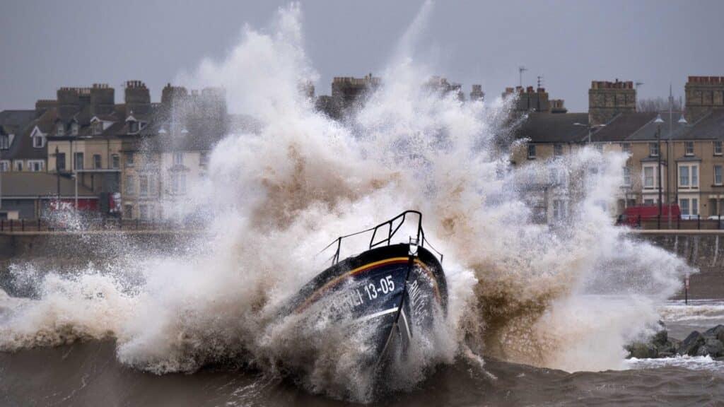 RNLI life saving at sea Steve Duncombe