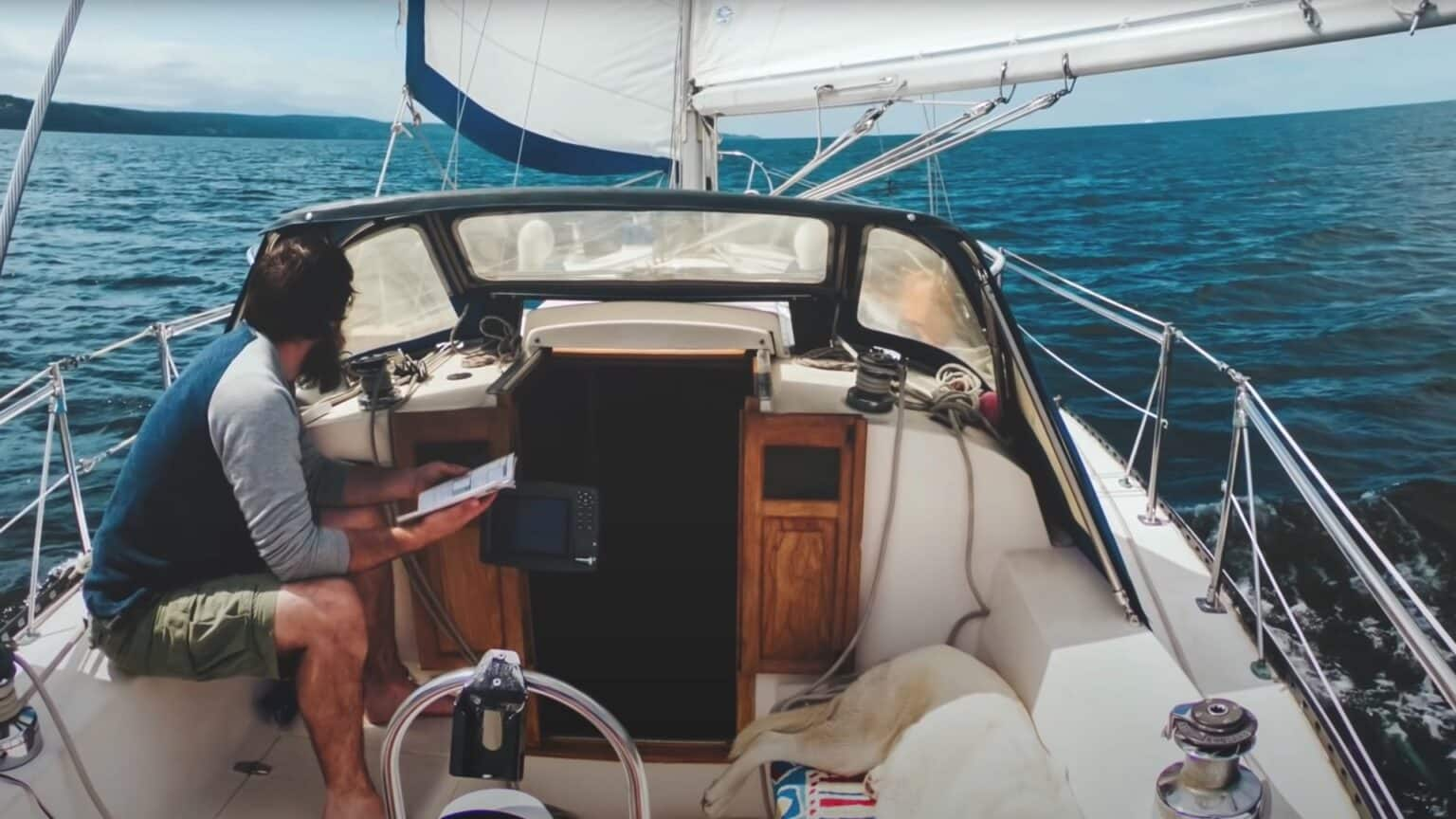 Eco friendly sailing living onboard