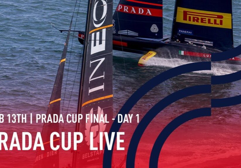 Americas Cup Prada Cup final day 1