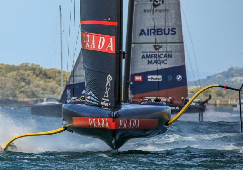 America's Cup Semifinal day 1 highlights Prada