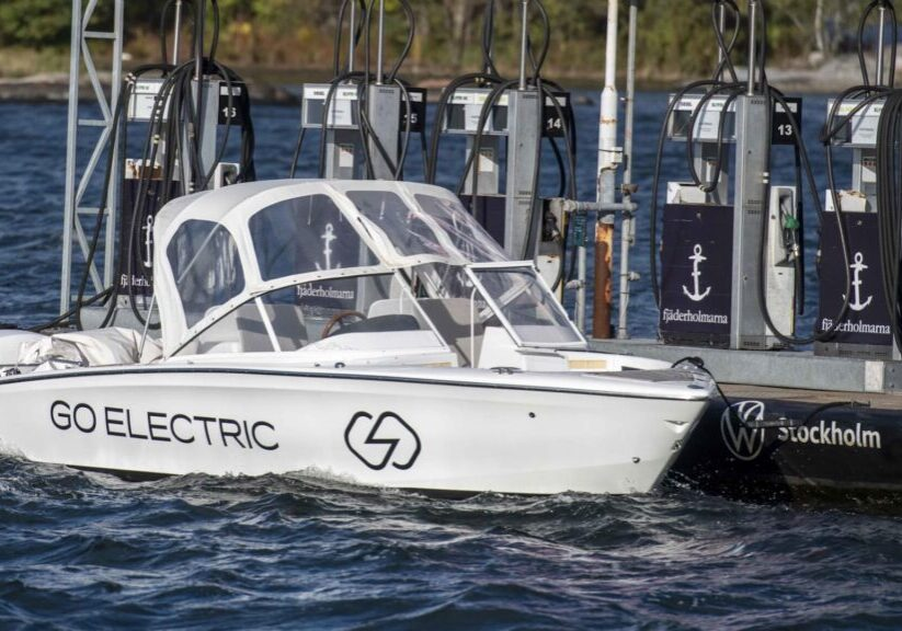 Candela Seven electric boat charging network