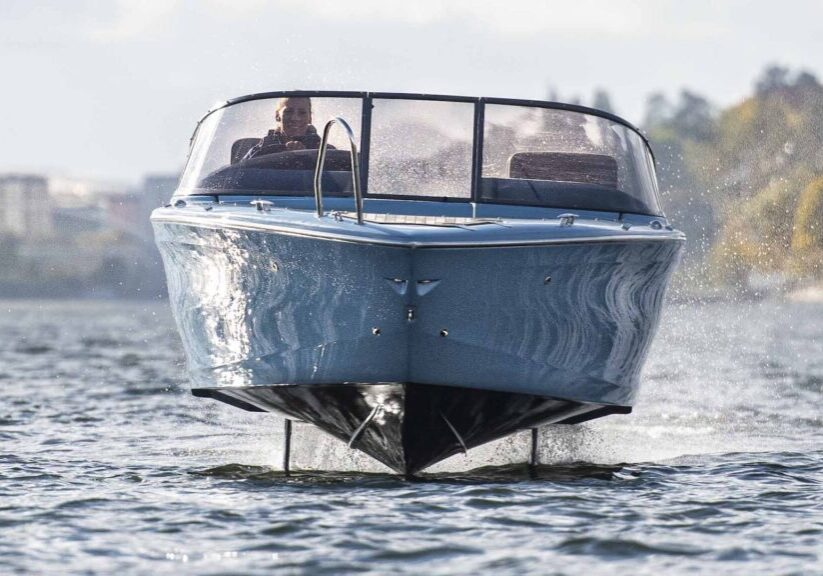 Candela electric boat
