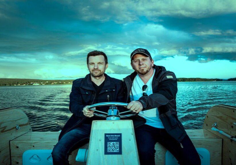 Electric boat in Sweden 2