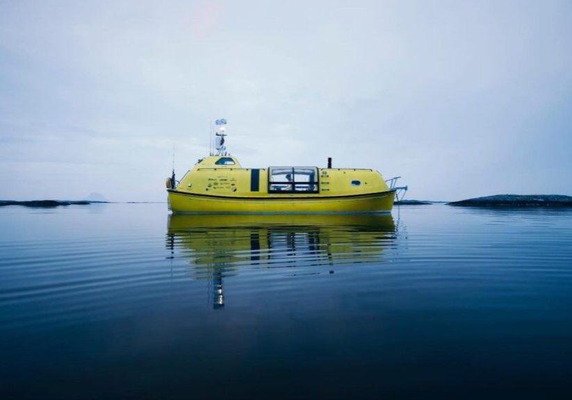 Gammal livbåt förvandlas till fantastisk fritidsbåt