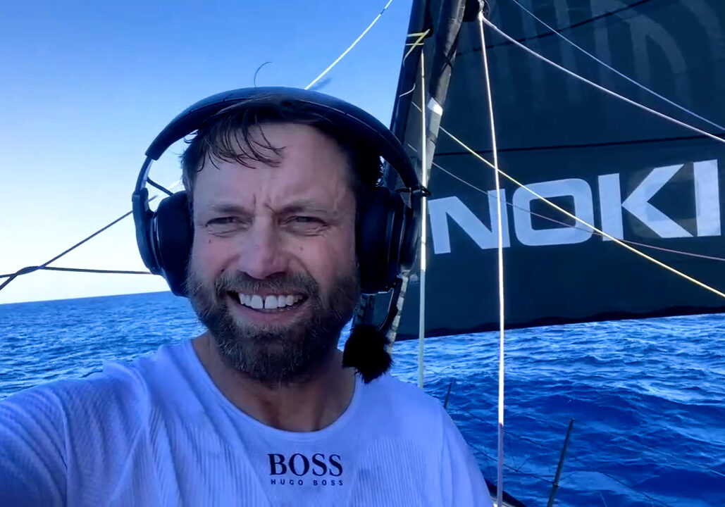 Hugo Boss Alex Thomson under way again