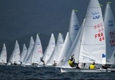 Hyere 470 start
