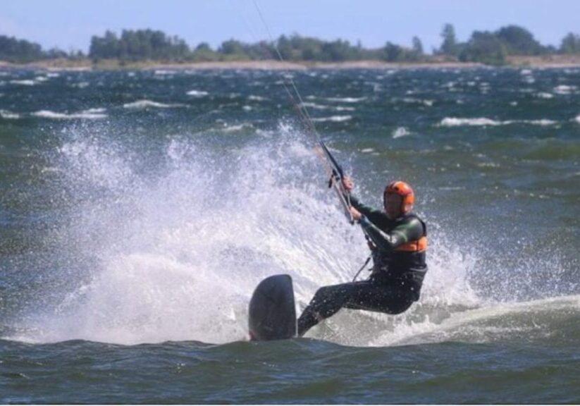 Kitesurfing Johan Ramberg