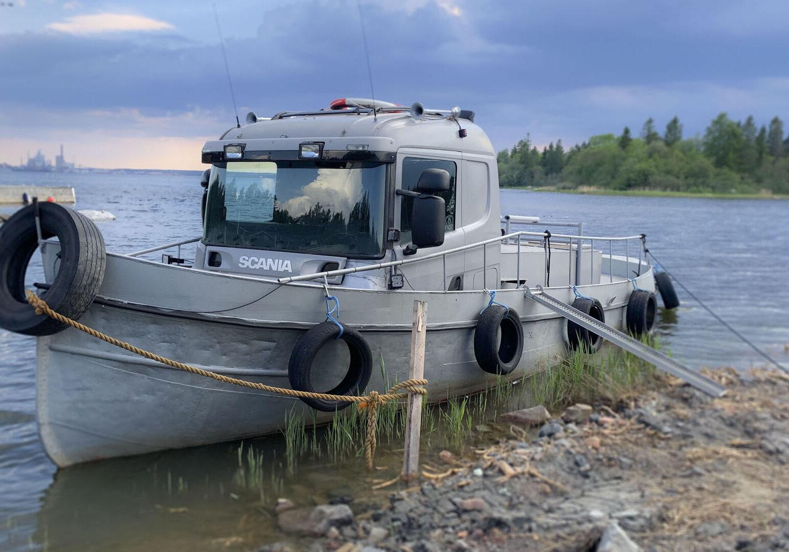 Lastbil Scania 5