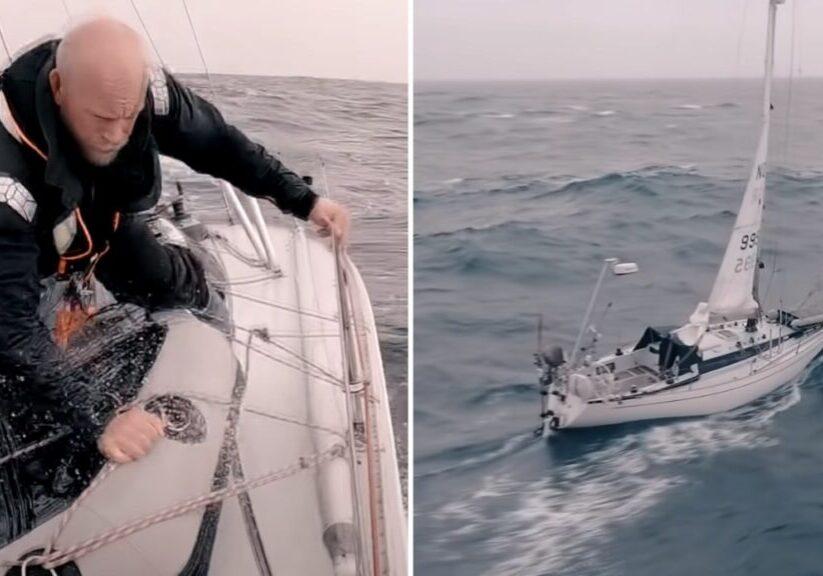 Norwegian solo sailor Erik Aanderaa