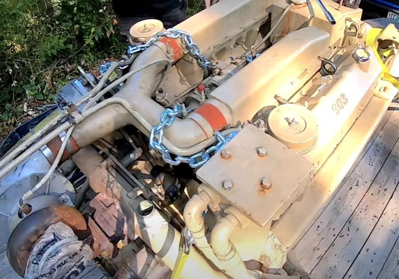 Renovering av motor