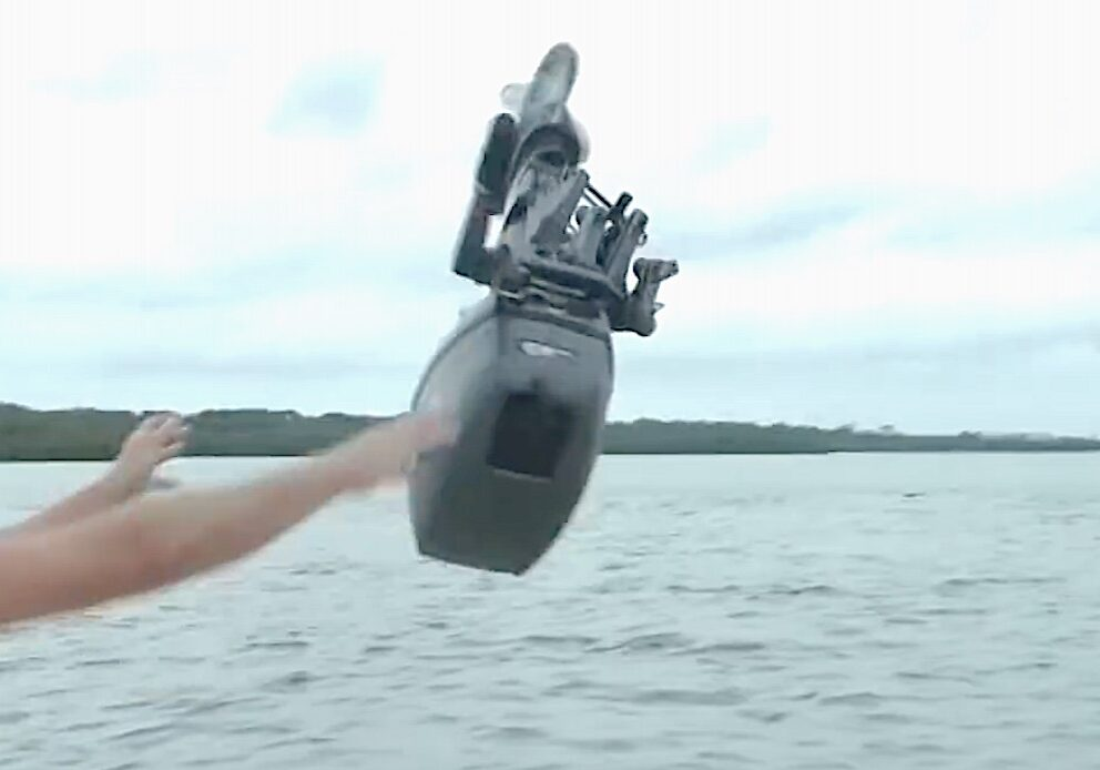 Can you kill an outboard motor