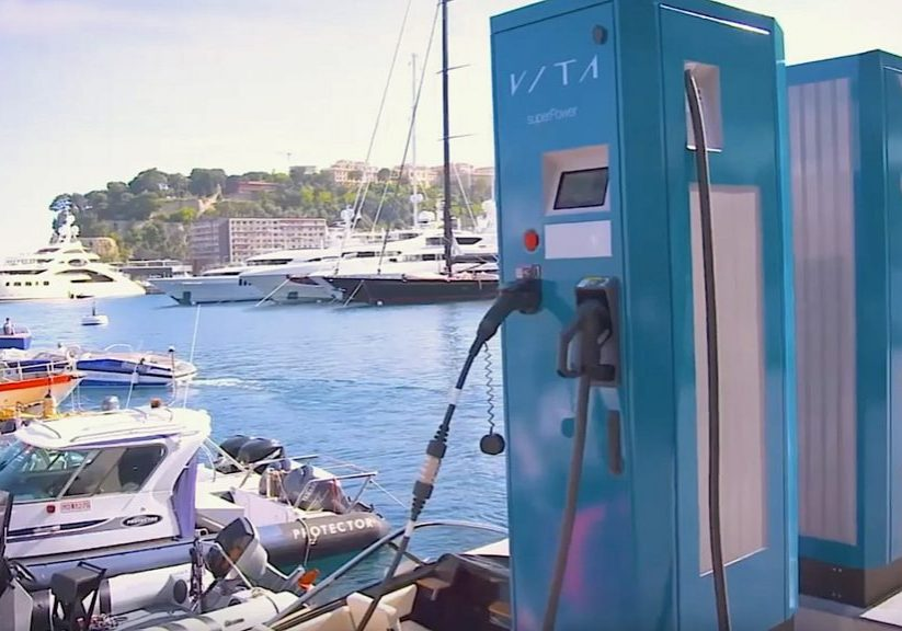 Vita supercharger for electric boats