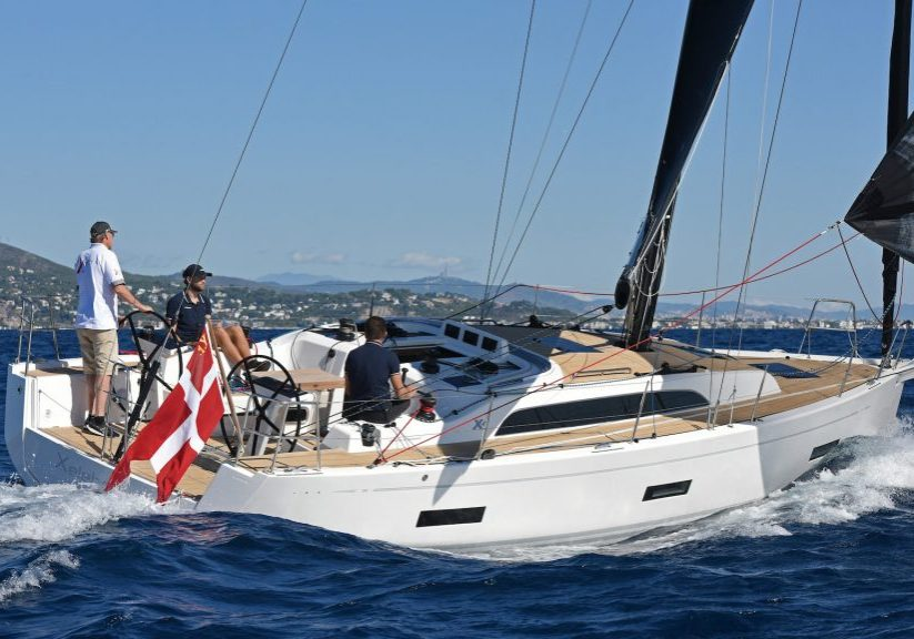 European Yacht of the Year 2019 Barcelona Trials 15 October 2019  X 4.0