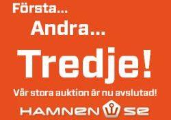 Auktionen på hamnen.se är avslutad för denna gång - Allt för Sjön 2012