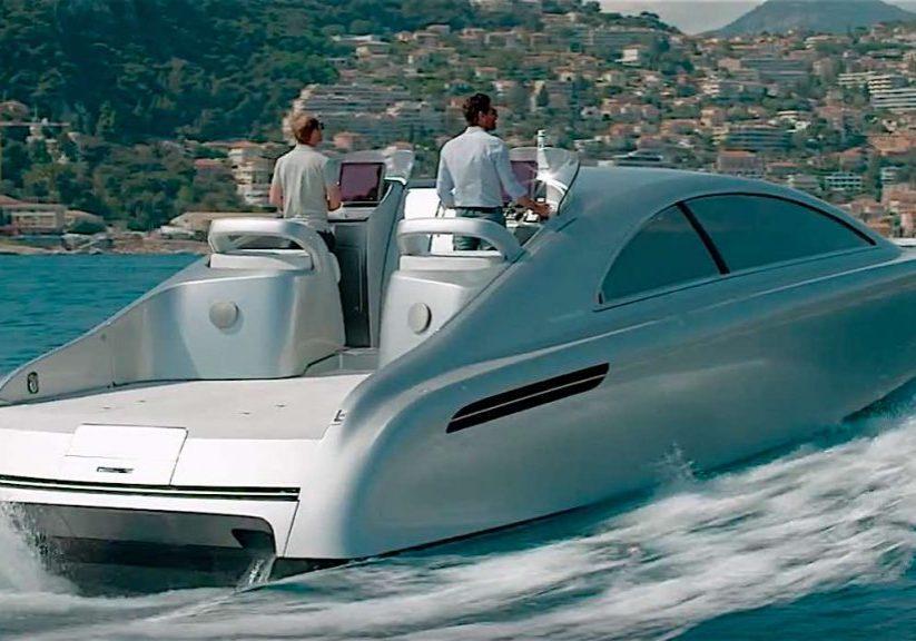 Första Mercedesbåten klar för leverans