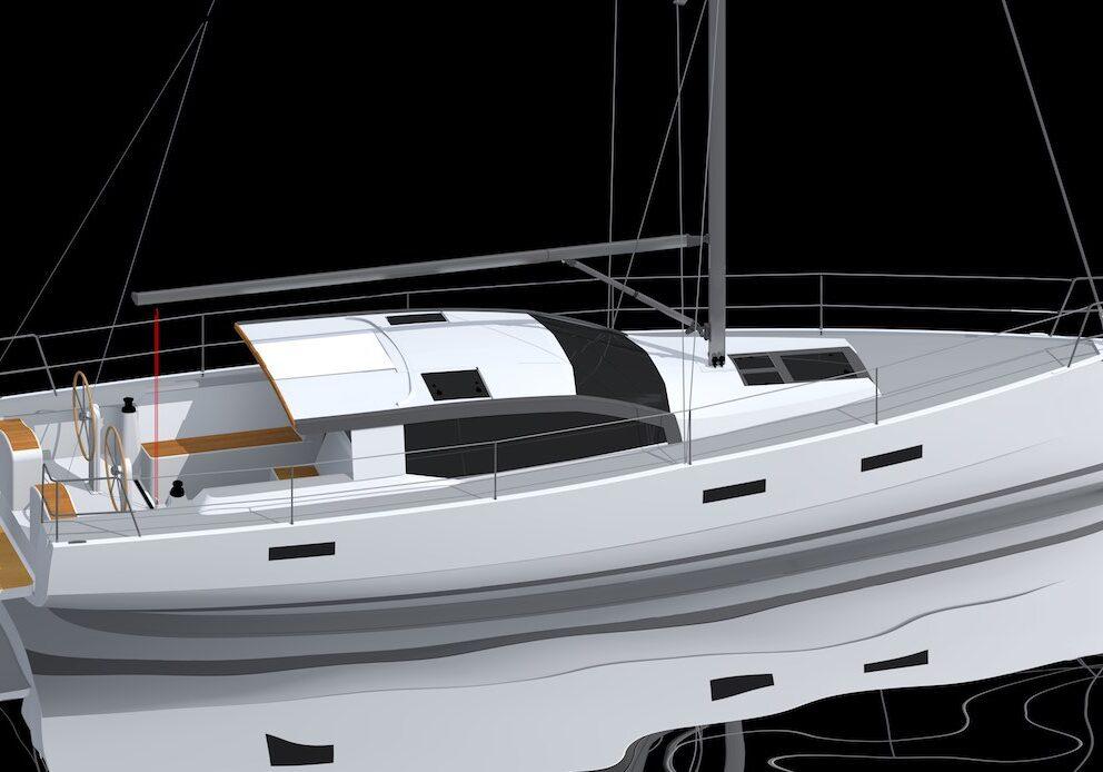 Den ideala segelbåten för moget båtfolk.